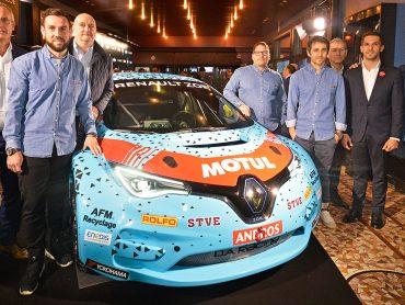 Trophée Andros: Elektroauto Renault ZOE startet bei Eisrennserie
