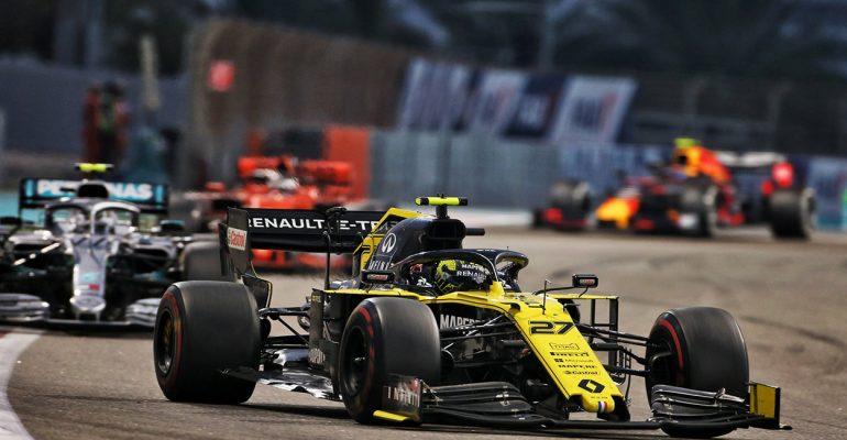 Formel 1-Grand Prix von Abu Dhabi: Renault schrammt knapp an WM-Punkten vorbei