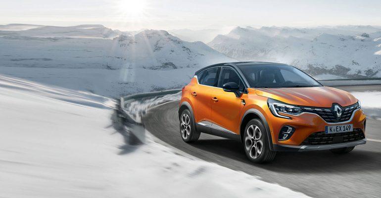 Neuer Renault CAPTUR: Premiere beim Renault Tag am 11. Januar<sup>1</sup>