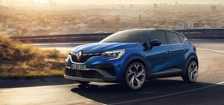 Neuer Renault CAPTUR: Schicker Crossover auch als Plug-in-Hybrid