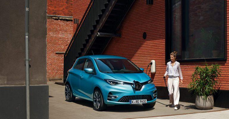 Elektroauto Renault ZOE: Erfolgreicher Jahresauftakt 2020