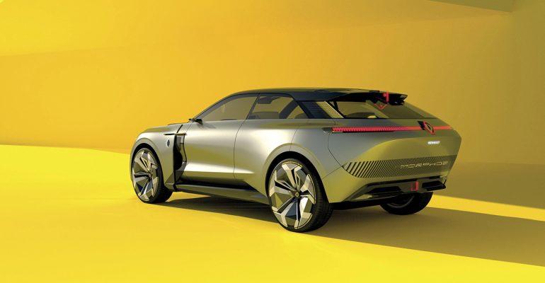 Renault MORPHOZ: Verwandlung auf Knopfdruck