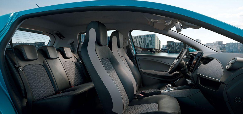 Renault ZOE: Recycelte Materialien im Innenraum für hervorragende Ökobilanz