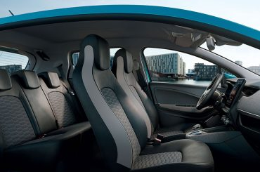 Renault ZOE: Recycelte Materialien im Innenraum