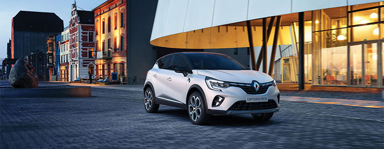 Renault Captur: Innovativer Hybridantrieb