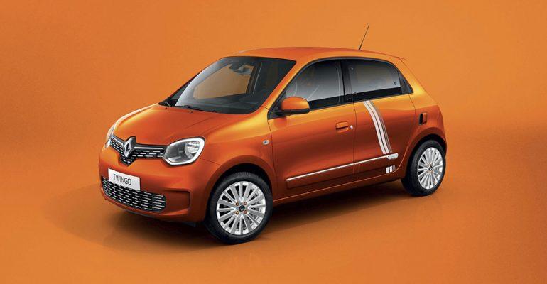 TWINGO Electric Sondermodell Vibes: Elektroauto ist in Kürze bestellbar