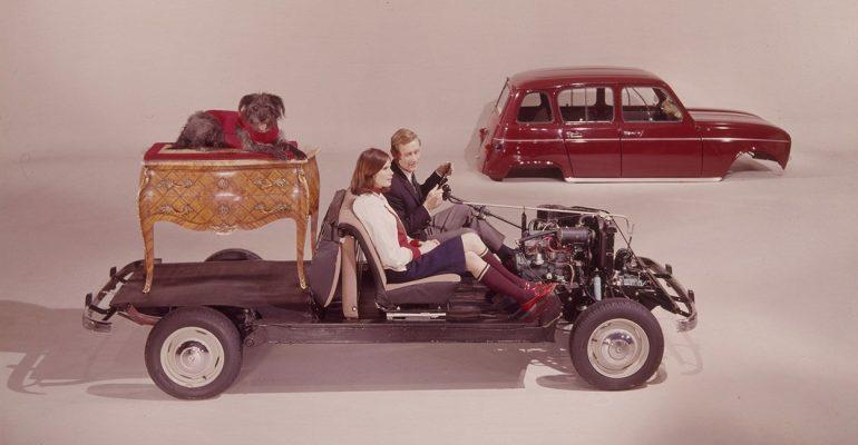 Autos mit viel Platz im Innenraum: Vom R4 bis zum Renault SCENIC