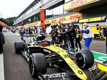 Formel 1 in Spa: Plätze vier und fünf für Renault – Ricciardo mit schnellster Rennrunde