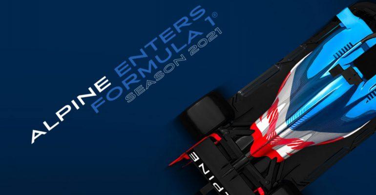 Alpine F1® Team greift ab 2021 in der Formel 1 an