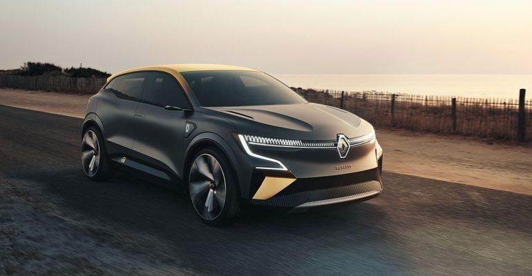 Renault MEGANE eVISION – die Zukunft des Elektroautos