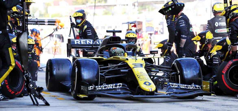 Renault F1 auf dem Nürburgring 2020