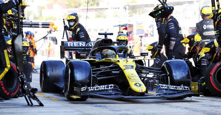 Formel 1 am Nürburgring: Renault freut sich auf den Großen Preis der Eifel