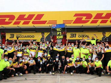 F1 in Imola: Renault wieder auf dem Podest