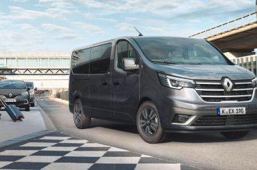 Renault TRAFIC mit frischem Design und neuen Ausstattungsfeatures